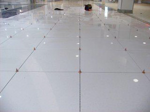 Using the ATR Tile Leveling system on a shopping centre installation