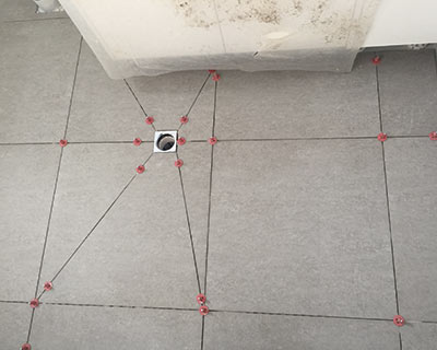 Wet area ATR Tile Leveling