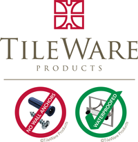 Tileware Products logo with icons